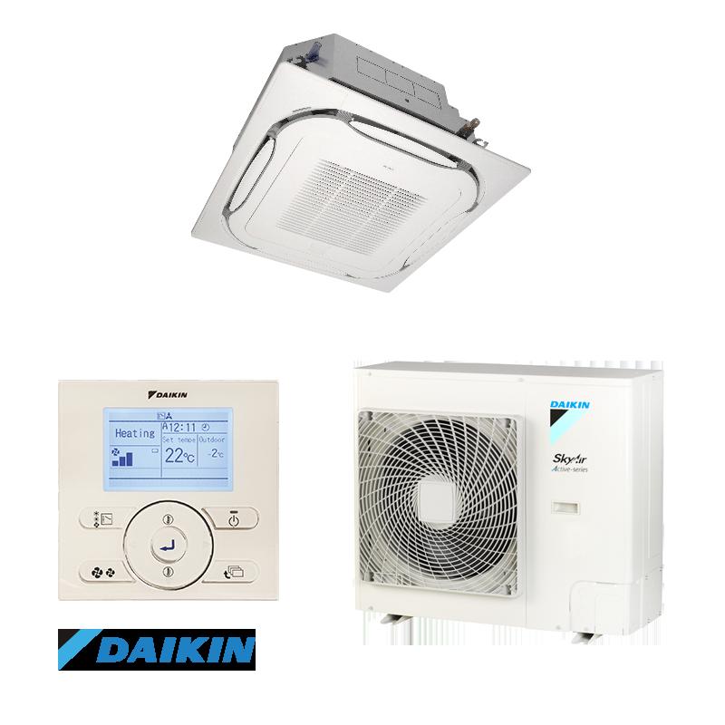 Касетъчен климатик Daikin FCAG71B/ARXM71N9, Монофазен, 24000 BTU