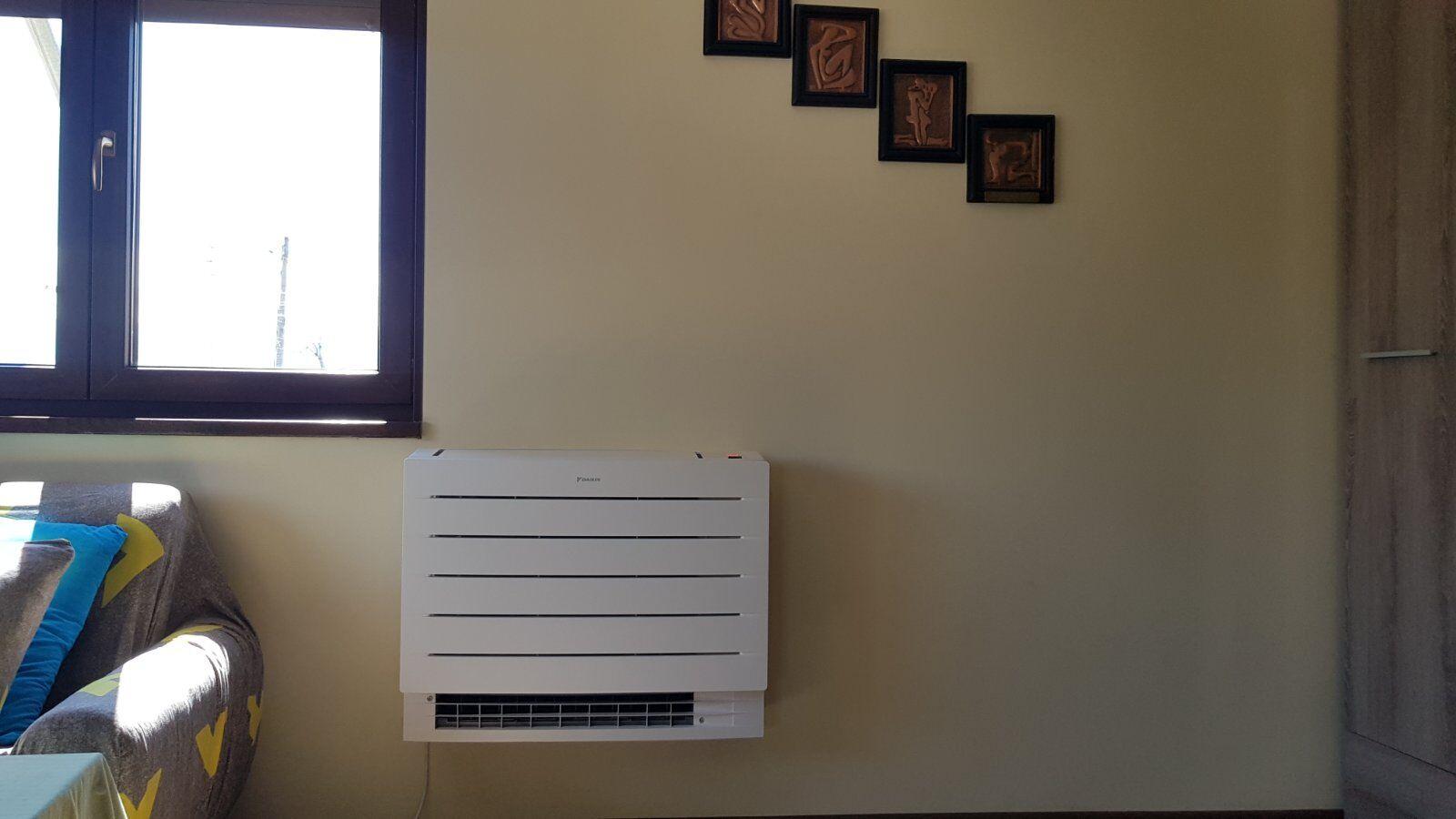 Монтаж климатична система Дайкин Пловдив
