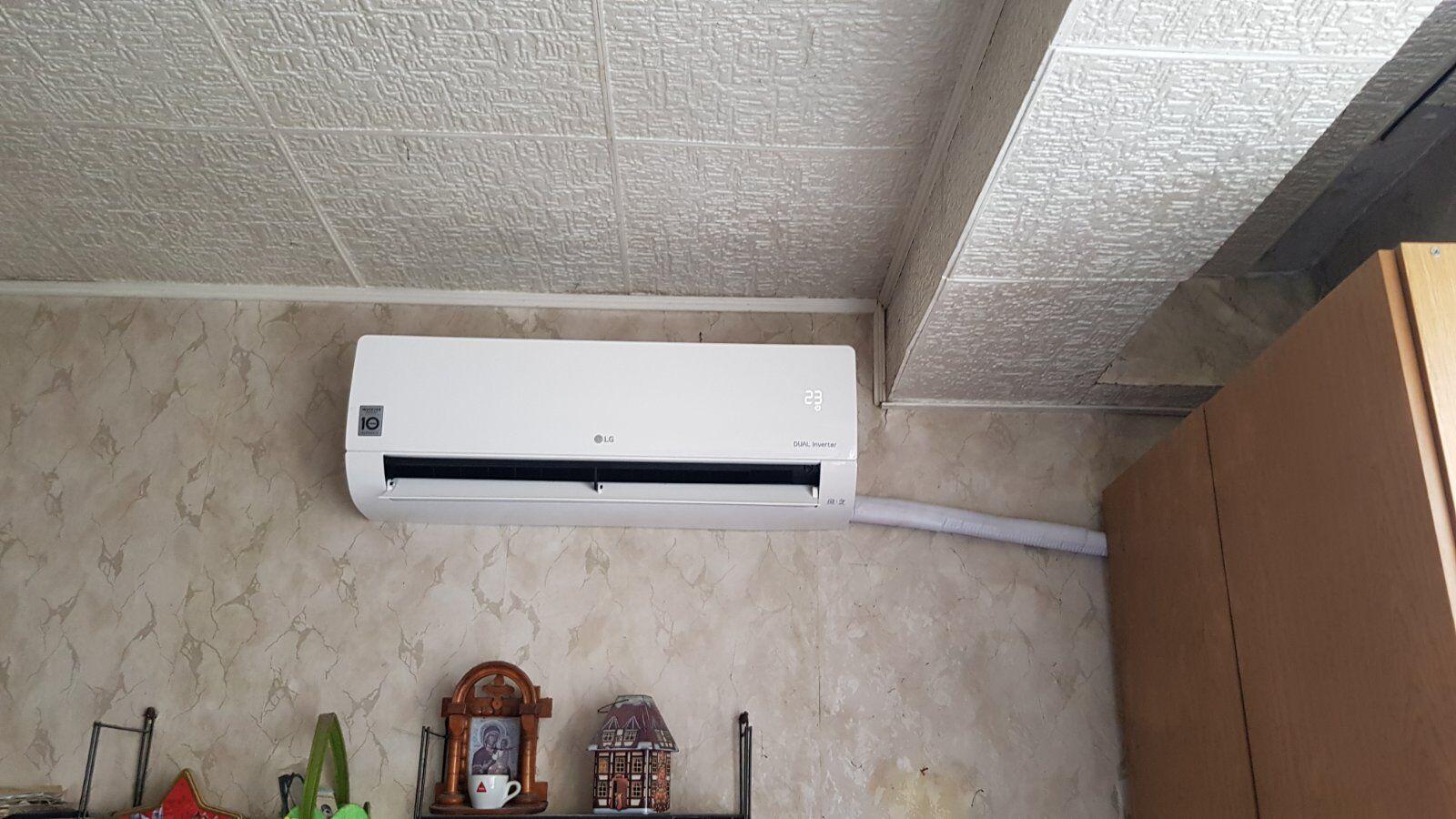 Монтаж климатик LG Долна Баня