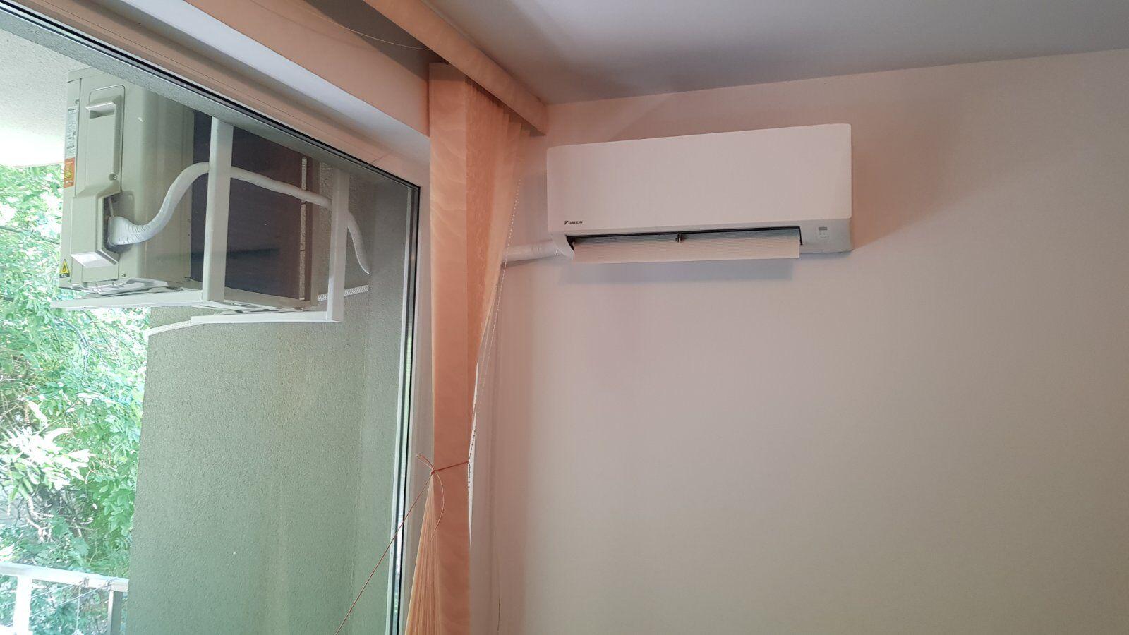 daikin ftxc50c монтаж на таванни стойки Пловдив